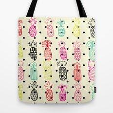 Tropic Pineapple Tote Bag