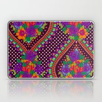 Ivy Purple Laptop & iPad Skin