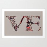 VE Art Print
