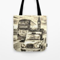 Westminster Bridge Vinta… Tote Bag