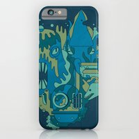 iPhone & iPod Case featuring Deep Blue Sea by Emory Allen