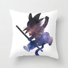 SPACE GOKU Throw Pillow