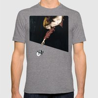 Grow Old, Die Alone Mens Fitted Tee Tri-Grey SMALL