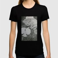 Lost City Womens Fitted Tee Black SMALL