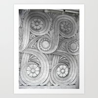 Limestone Garden Art Print