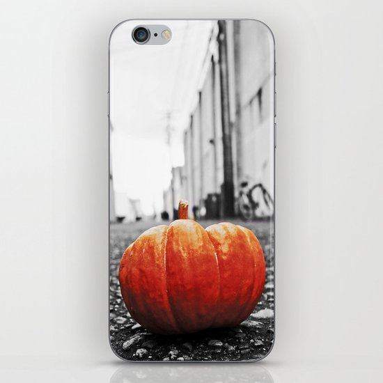 Gritty City pumpkin iPhone & iPod Skin