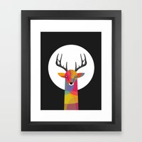 SO SERIOUS Framed Art Print