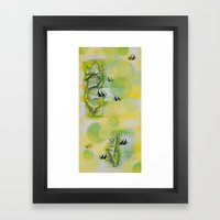 A Dream #1 Framed Art Print