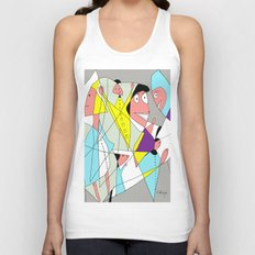 The nurse Unisex Tank Top