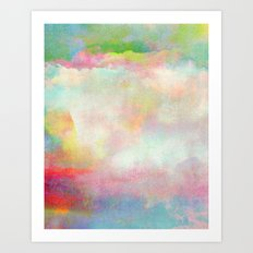 Untitled 20120222n (Cloudscape) Art Print