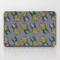 PINEAPPLE black iPad Case
