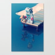 Canvas Print featuring The Dream by Powerpig