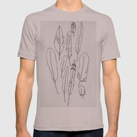 Feather Friends Mens Fitted Tee Cinder SMALL