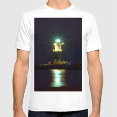 LIGHT Mens Fitted Tee White SMALL
