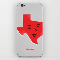 Happy Texas iPhone & iPod Skin