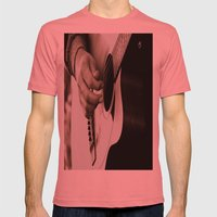 Pickin' Mens Fitted Tee Pomegranate SMALL