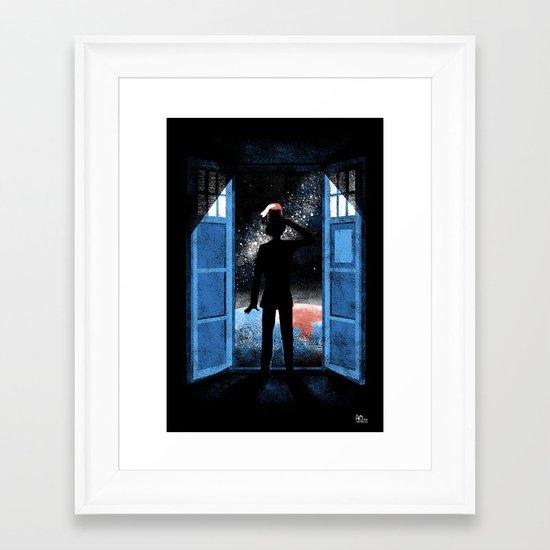 It's Bigger on the Outside Framed Art Print