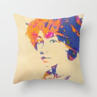 Ode To Corrine Throw Pillow