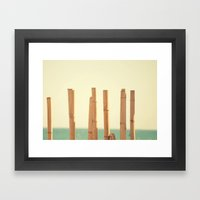 Salitre Framed Art Print