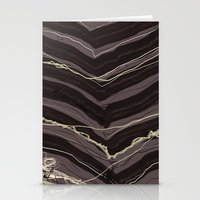 Burnout At Chevron Stationery Cards