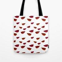 Retro Lips Tote Bag