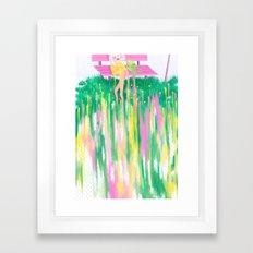 Standstill Framed Art Print