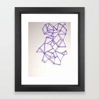 Flipped  Framed Art Print