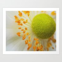 Green And Fluffy Art Print