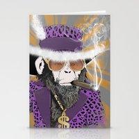 Pimp-Panzee Stationery Cards