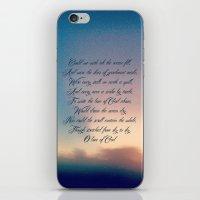Love of God iPhone & iPod Skin