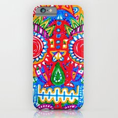 A really colourful skull Slim Case iPhone 6s