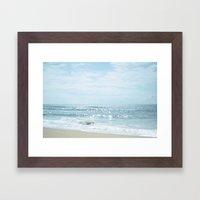 Glisten Framed Art Print