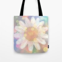 Birthday Flower Tote Bag