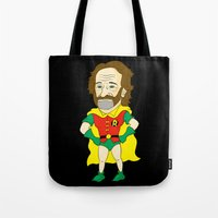 Robin as Robin Tote Bag