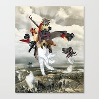 MINGA X Let There Be Lig… Canvas Print