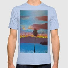 The Beautiful Key West S… Mens Fitted Tee Athletic Blue SMALL
