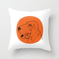 Canis Throw Pillow