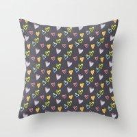 Rosewall love Throw Pillow