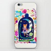 Little fox in Secret place iPhone & iPod Skin