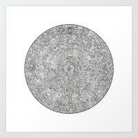 The Inner Hive Art Print