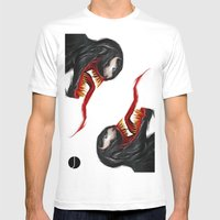 EXTRATERRESTRIAL Mens Fitted Tee White SMALL