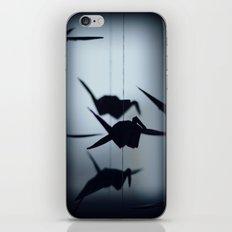 Origami crane iPhone & iPod Skin