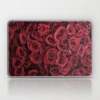 Flower Market 3 - Red Ro… Laptop & iPad Skin