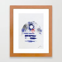 Astromech Deetoo Framed Art Print