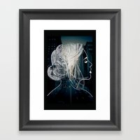 The Woman Who Never Slee… Framed Art Print