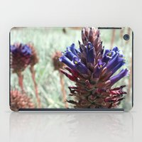 Purple  Flower  Spikes iPad Case
