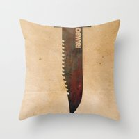 Rambo Throw Pillow