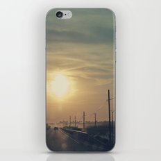 Anochece iPhone & iPod Skin