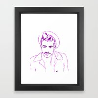 Jonn Framed Art Print