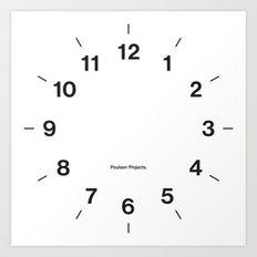 Time Clock 2 Art Print